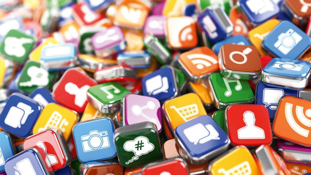 ikonki mediów społecznościowych